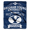 NCAA BYU Cougars 50x60 Raschel Throw Blanket