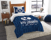 NCAA BYU Cougars Twin Comforter Set