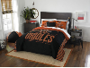 MLB Baltimore Orioles QUEEN Comforter and 2 Shams