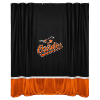 MLB Baltimore Orioles Shower Curtain