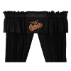 MLB Baltimore Orioles Valance - Locker Room Series