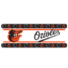 MLB Baltimore Orioles Wall Paper Border