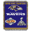 NFL Baltimore Ravens Commemorative 48x60 Tapestry Throw