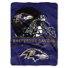 NFL Baltimore Ravens 60x80 Super Plush Throw Blanket
