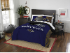 NFL Baltimore Ravens QUEEN Comforter and 2 Shams