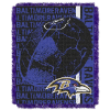 NFL Baltimore Ravens SPIRAL 48x60 Triple Woven Jacquard Throw