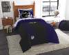 NFL Baltimore Ravens TWIN Size Bed In A Bag