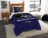 NFL Baltimore Ravens Twin Comforter Set