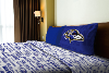 NFL Baltimore Ravens Twin Sheet Set