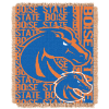 NCAA Boise State Broncos FOCUS 48x60 Triple Woven Jacquard Throw