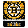 NHL Boston Bruins 50x60 Fleece Throw Blanket