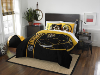 NHL Boston Bruins Full Comforter and 2 Shams
