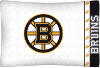 NHL Boston Bruins Micro Fiber Pillow Cases (set of 2)