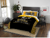 NHL Boston Bruins QUEEN Comforter and 2 Shams