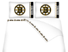 NHL Boston Bruins Micro Fiber Bed Sheets