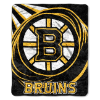 NHL Boston Bruins SHERPA 50x60 Throw Blanket