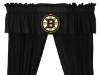 NHL Boston Bruins Valance - Locker Room Series