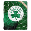NBA Boston Celtics SHERPA 50x60 Throw Blanket