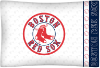 MLB Boston Red Sox Micro Fiber Pillow Cases (set of 2)