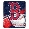 MLB Boston Red Sox SHERPA 50x60 Throw Blanket