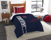 MLB Boston Red Sox Twin Comforter with Sham