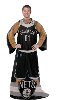 NBA Brooklyn Nets Uniform Huddler Blanket With Sleeves