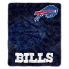 NFL Buffalo Bills Sherpa STROBE 50x60 Throw Blanket
