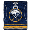 NHL Buffalo Sabres JERSEY 50x60 Raschel Throw