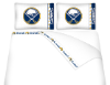 NHL Buffalo Sabres Micro Fiber Bed Sheets