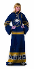 NHL Buffalo Sabres Uniform Huddler Blanket With Sleeves