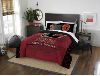 NHL Calgary Flames QUEEN Comforter and 2 Shams