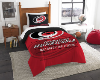 NHL Carolina Hurricanes Twin Comforter Set