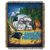 NFL Carolina Panthers Home Field Advantage 48x60 Tapestry Throw