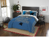 NFL Carolina Panthers QUEEN Comforter and 2 Shams