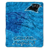 NFL Carolina Panthers Sherpa STROBE 50x60 Throw Blanket