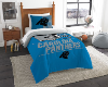 NFL Carolina Panthers Twin Comforter Set