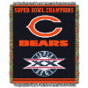 NFL Chicago Bears Commemorative 48x60 Tapestry Throw
