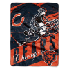 NFL Chicago Bears 50x60 Micro Raschel Throw Blanket