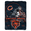 NFL Chicago Bears 60x80 Super Plush Throw Blanket