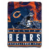 NFL Chicago Bears 60x80 Silk Touch Raschel Throw Blanket