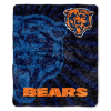 NFL Chicago Bears Sherpa STROBE 50x60 Throw Blanket