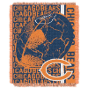 NFL Chicago Bears SPIRAL 48x60 Triple Woven Jacquard Throw