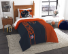 NFL Chicago Bears Twin Comforter with Sham