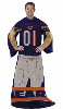 NFL Chicago Bears Uniform Huddler Blanket With Sleeves