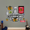 NHL Chicago Blackhawks 2015 Stanley Cup Champions Logo Fat Head
