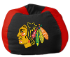 NHL Chicago Blackhawks Bean Bag Chair