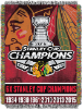 NHL Chicago Blackhawks Commemorative 48x60 Tapestry Throw