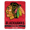 NHL Chicago Blackhawks 50x60 Micro Raschel Throw