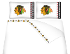 NHL Chicago Blackhawks Micro Fiber Bed Sheets