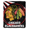 NHL Chicago Blackhawks SHERPA 50x60 Throw Blanket